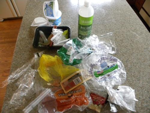 Plastic Challenge: Pat Clancy, Week 2