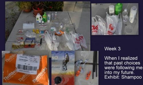 Plastic Challenge: Sandy, Week 3