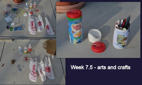 Plastic Challenge: Sandy, Week 7
