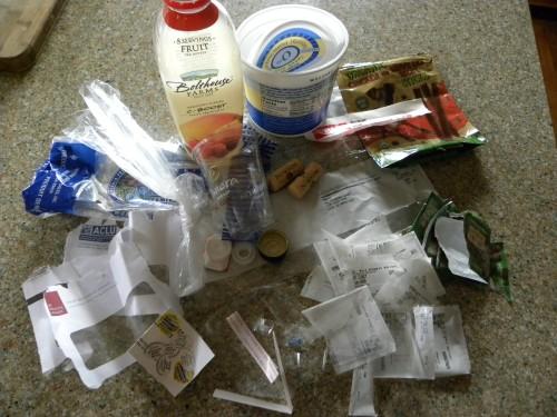 Plastic Challenge: Pat Clancy, Week 5