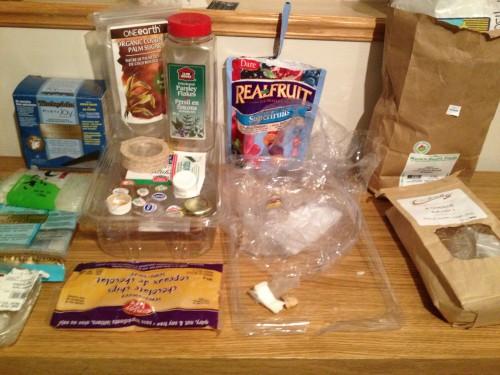 Plastic Challenge: Kristin Overton, Week 48