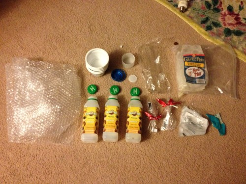 Plastic Challenge: Jessica , Week 1