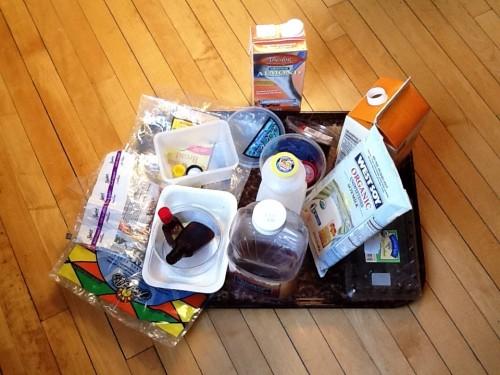 Plastic Challenge: Valerie Teruel, Week 1