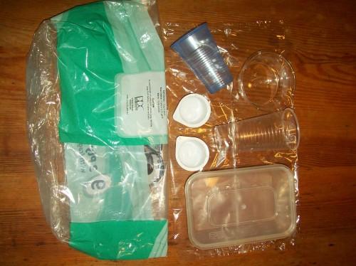 Plastic Challenge: Sarah Fleming, Week 1