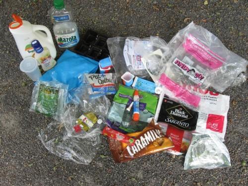Plastic Challenge: Anny Frechette, Week 1