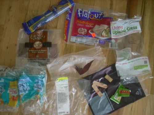 Plastic Challenge: jennifer patrick, Week 4