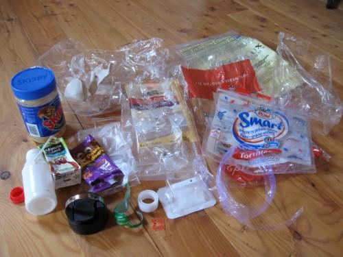 Plastic Challenge: Anny Frechette, Week 3