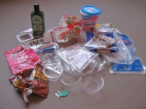 Plastic Challenge: Anny Frechette, Week 5
