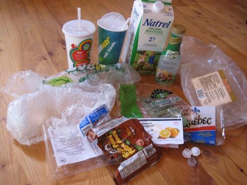 Plastic Challenge: Anny Frechette, Week 6