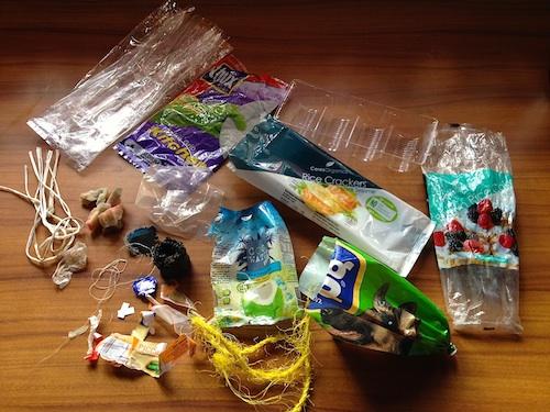 Plastic Challenge: Clare Marie, Week 1