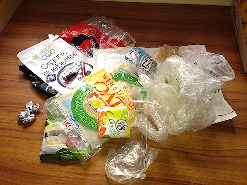 Plastic Challenge: Clare Marie, Week 2