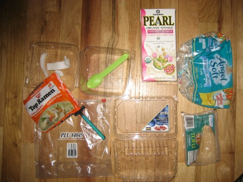 Plastic Challenge: jennifer patrick, Week 7