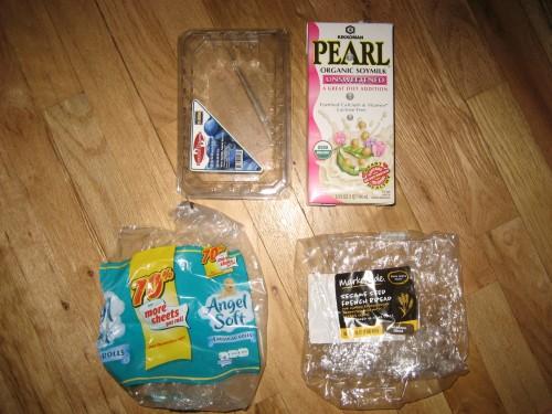 Plastic Challenge: jennifer patrick, Week 6