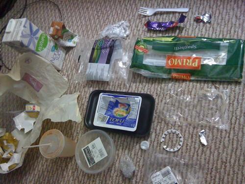Plastic Challenge: Cedar, Week 1