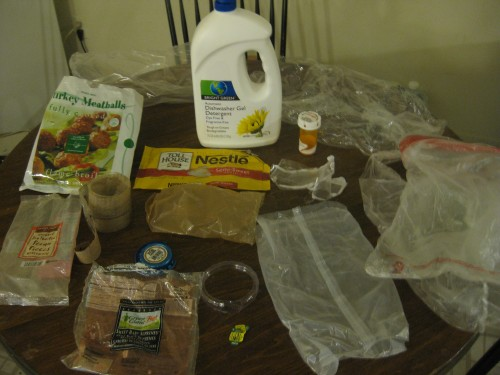 Plastic Challenge: Christina S., Week 4