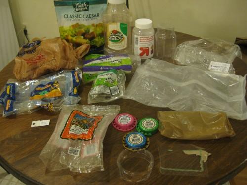 Plastic Challenge: Christina S., Week 5
