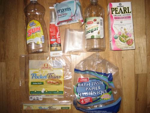 Plastic Challenge: jennifer patrick, Week 12