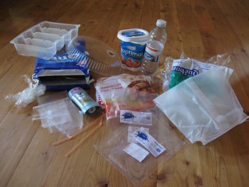 Plastic Challenge: Anny Frechette, Week 9
