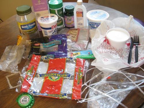 Plastic Challenge: Christina S., Week 7