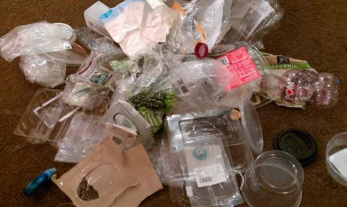 Plastic Challenge: v, Week 1