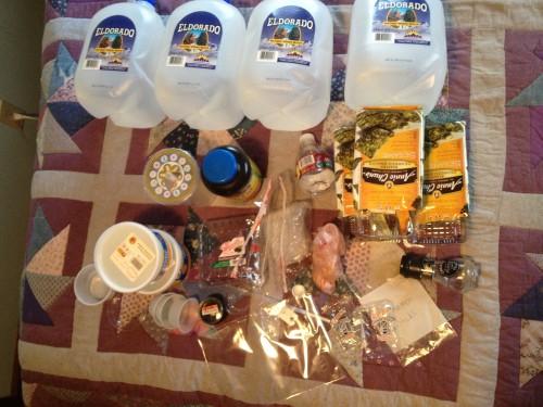 Plastic Challenge: Melissa, Week 1