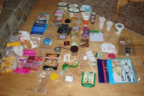 Plastic Challenge: Jo, Week 1