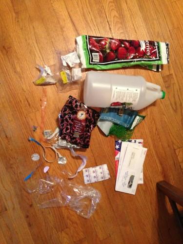 Plastic Challenge: Elle M, Week 1