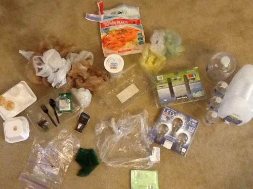 Plastic Challenge: Sabra, Week 1