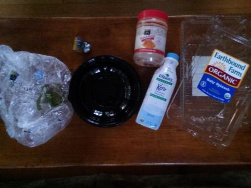 Plastic Challenge: Hanh Pham, Week 5