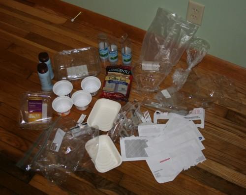 Plastic Challenge: Katie Sumner, Week 1