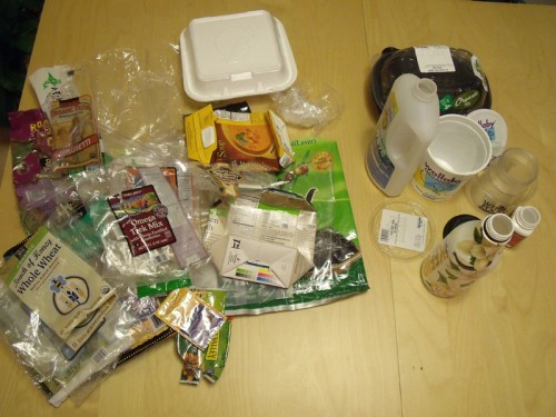 Plastic Challenge: Harumi, Week 1